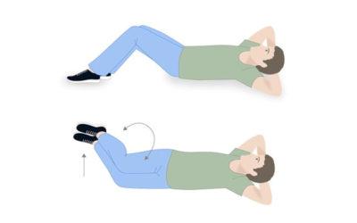 Gimnastyka Dla Seniora w domu – Bóle kręgosłupa lędźwiowego