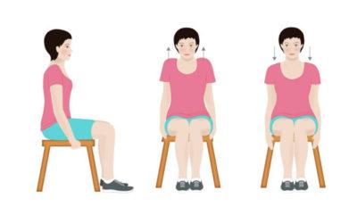 Gimnastyka Dla Seniora w domu – Bóle kręgosłupa piersiowego
